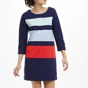 NWT ANTHROPOLOGIE ALLIHOP Color Block Stripe Dress